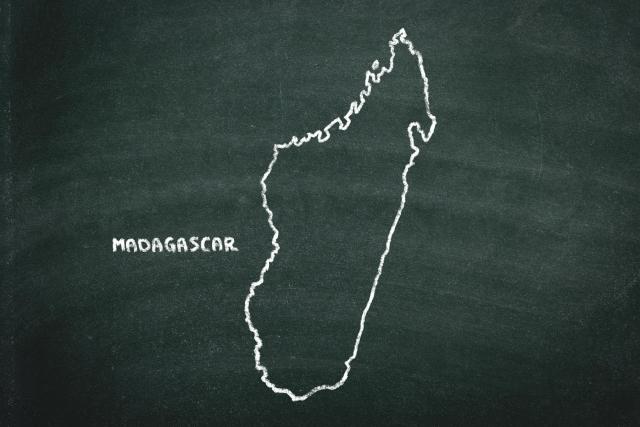アイアイの生息地マダガスカル