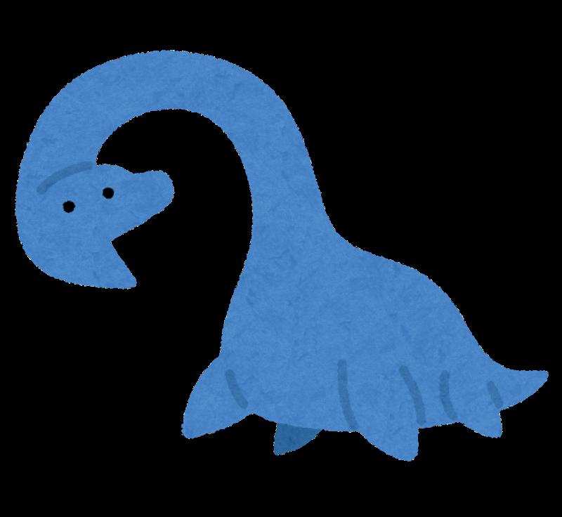 ネッシーは首長竜とされている